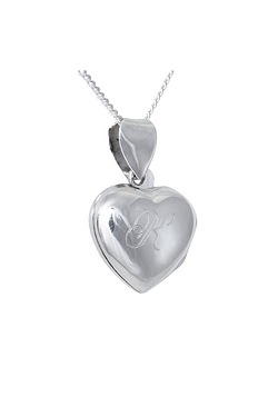Personalised Sterling Silver Heart ...