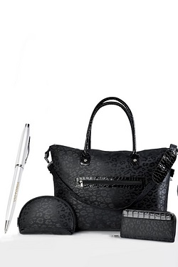 3-Piece Bag Set With Personalised Pen