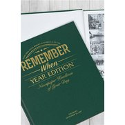 Personalised Newspaper Book - Year ...
