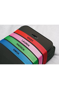 Personalised Luggage Strap with Lock