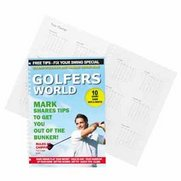 Personalised Golfer's World A5 Diary