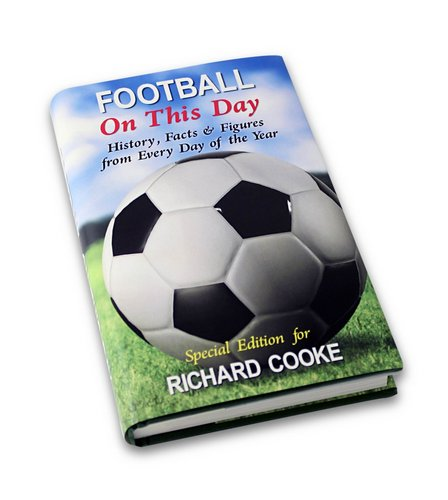 Image for Personalised Football On This Day Book from ace