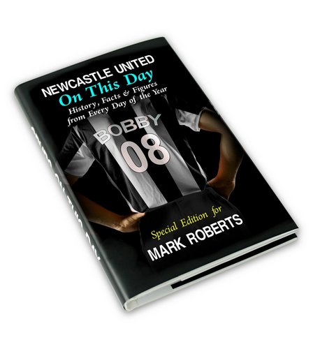 Image for Personalised Newcastle On This Day Book from ace