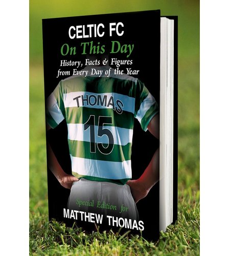 Image for Personalised Celtic On This Day Book from ace