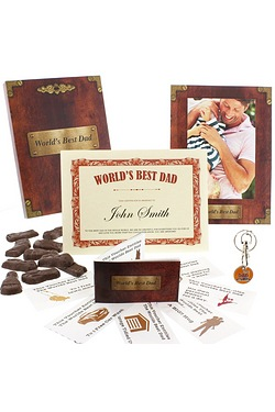 Personalised Worlds Best Dad Gift Box