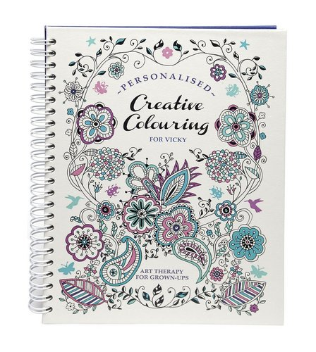 Image for Personalised Adult Colouring Book from ace