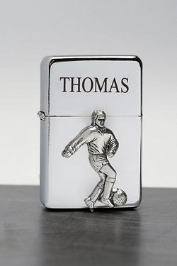 Personalised Sports Lighter - Football