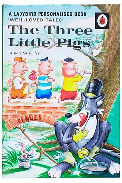 The Three Little Pigs: A Ladybird Personalised Book