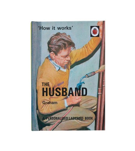Image for The Husband: A Ladybird Personalised Book from ace