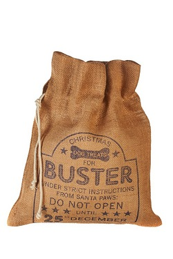 Personalised Pet Treat Sack - Dog