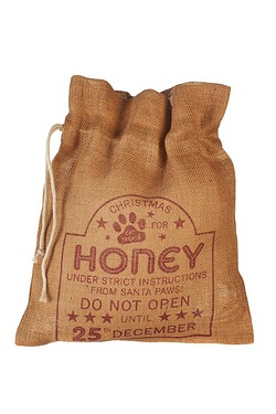 Personalised Pet Treat Sack - Cat