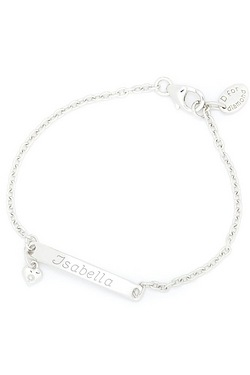Personalised Plain ID Bracelet - D ...