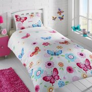 Personalised Butterflies Duvet Set