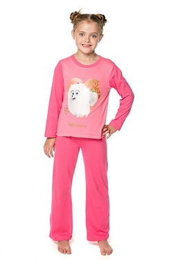 Girls Personalised Secret Life Of Pets Pyjamas