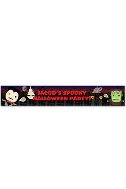 Personalised Halloween Banner