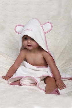 Personalised Towel With Ears
