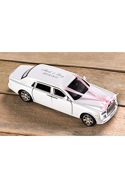 Personalised Wedding Car