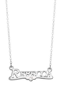 Personalised Sterling Silver Name A...