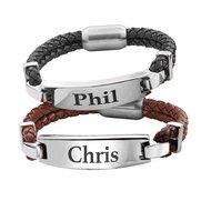 Personalised Gents Bracelet