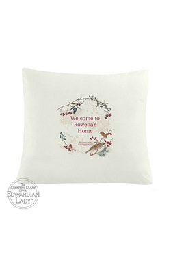 Edwardian Lady Xmas Cushion Cover