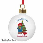 Paddington Bear Christmas Bauble