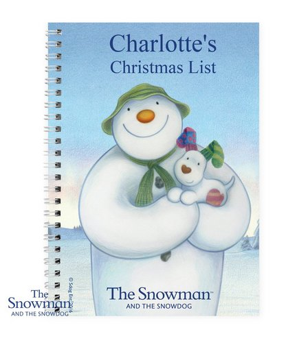 Image for Snowman And The Snowdog Notebook from ace