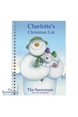 Snowman And The Snowdog Notebook
