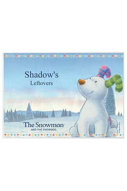 The Snowdog Pet Placemat
