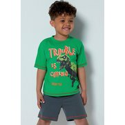 Boys Personalised Dinosaur Short Py...