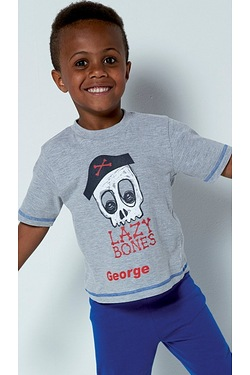 Boys Personalised Pirate Pyjamas