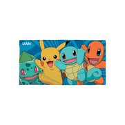 Pokemon Personalised Kids Towel