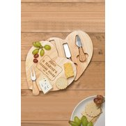 Personalised Heart Cheeseboard