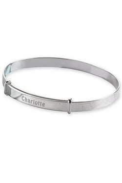 Personalised Christening Bangle
