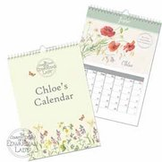Personalised Country Diary Calendar
