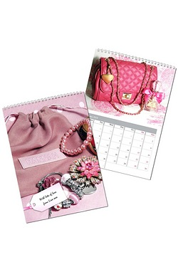 Personalised All Things Pink Calendar