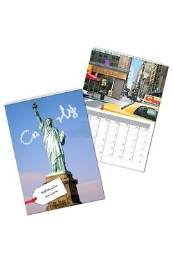 Personalised New York Calendar