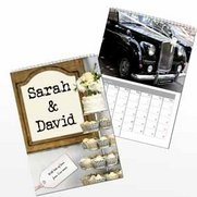 Personalised Just Married Calendar