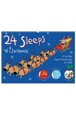 Personalised Book - 24 Sleeps Til Christmas