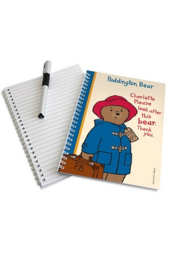 Personalised Paddington Bear Notebook