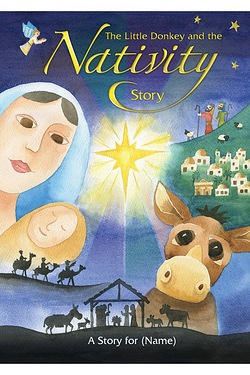 Personalised Book - The Little Donkey And The Nativity
