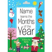 Personalised Book - Months Of The Year