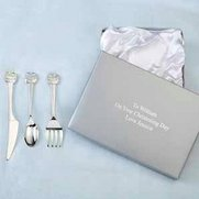 Personalised Noah's Ark Cutlery Set