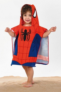 Personalised Poncho - Spiderman
