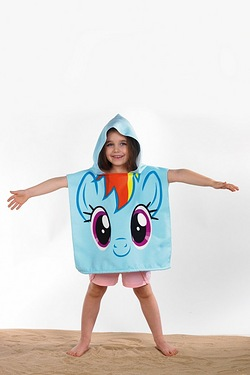 Personalised Poncho - My Little Pony