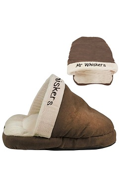 Personalised Faux Suede Pet Shoe Bed
