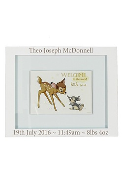 Personalised Disney Bambi Wall Plaque