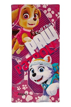 Personalised Towels - Paw Patrol Skye