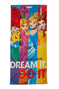 Personalised Towels - Disney Princess