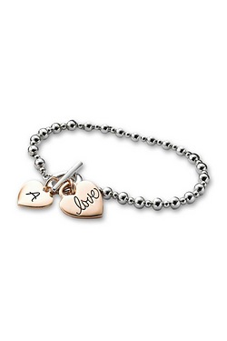 Personalised Love Charm Bracelet