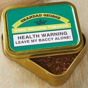 Personalised Tobacco Tin